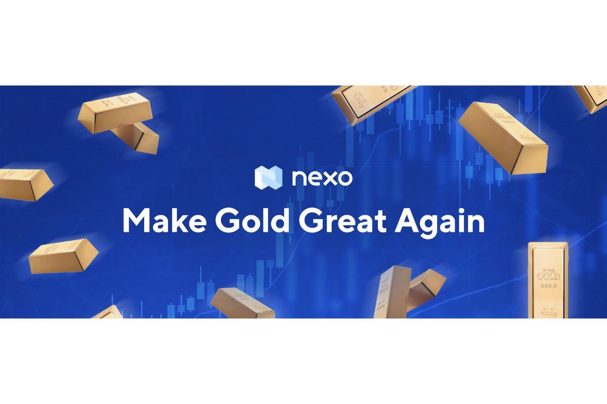 Nexo führt Gold gedeckte Kreditvergabe auf Blockchain ein