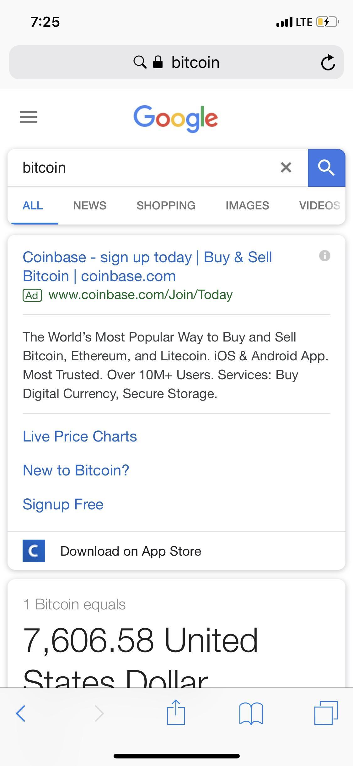 Coinbase Werbung
