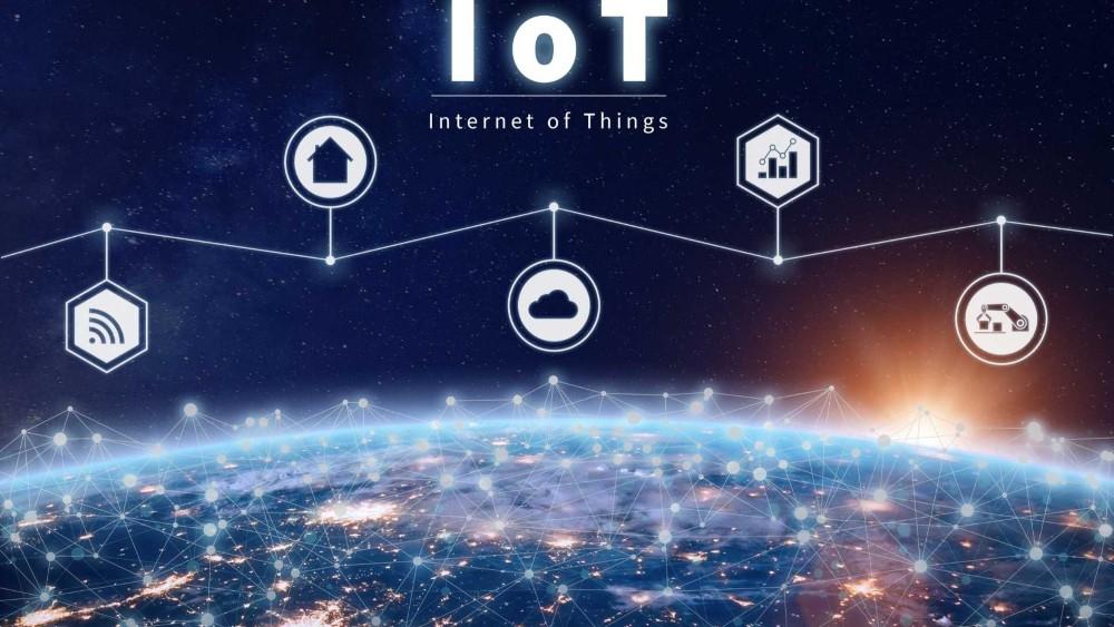Iota Kurs Prognose Weltall mit IoT Struktur
