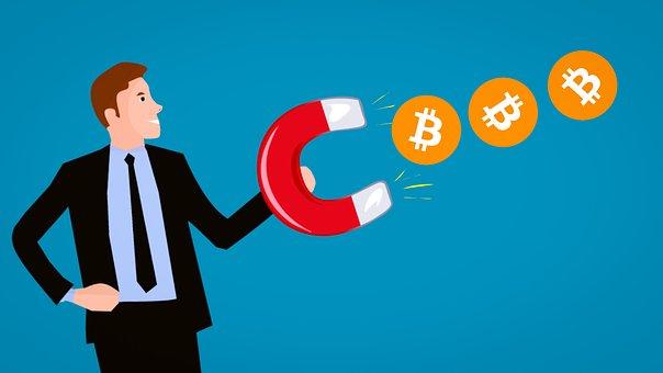 Magnet zieht Bitcoin an
