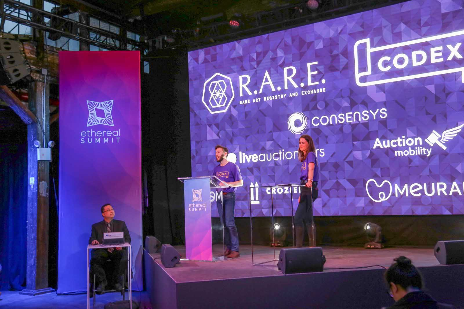 Blockchain Art Auction Raises over $190,000 Cryptokitties Crypto cryptocurrency new york codex protocol consensys rare life art auction