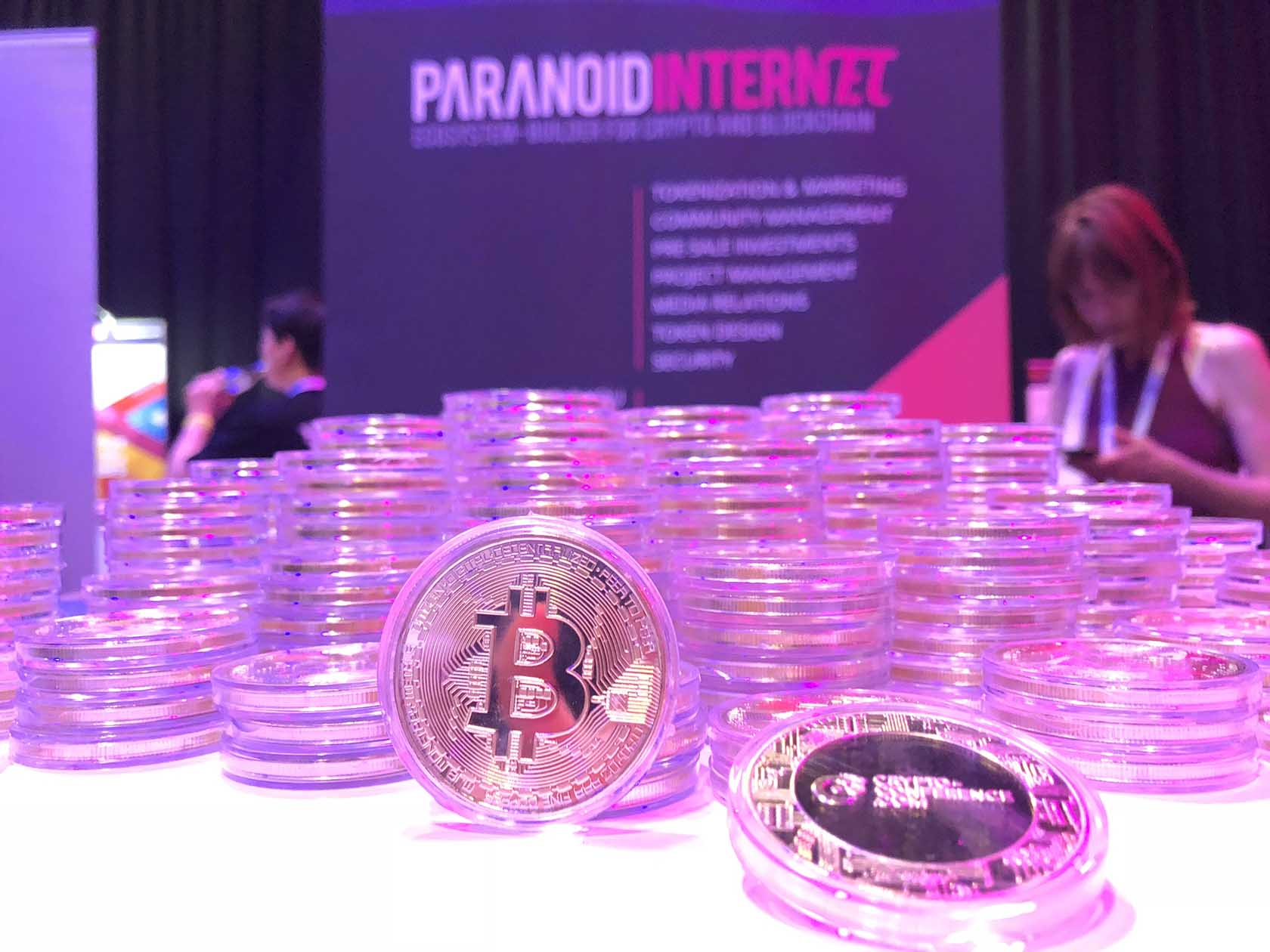 Paranoid Internet Rocks Blockshow Europe 2018 crypto cryptocurrency conference