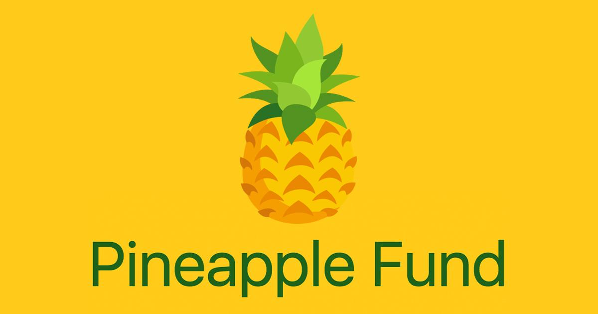 pineapple fund bitcoin