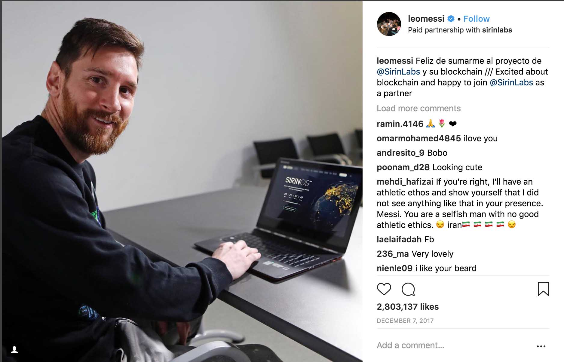 Football Lionel Messi Barcelona Argentina World Cup Instagram
