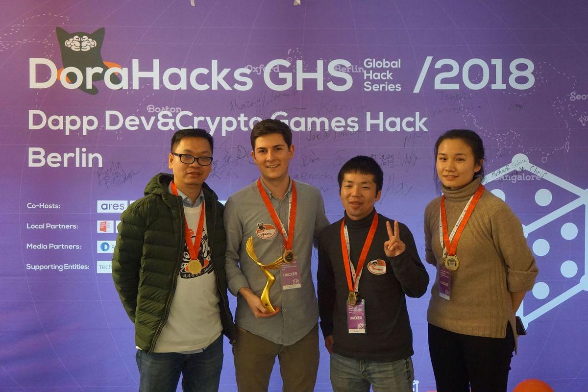 Dorahacks-Hackathon-1st-prize