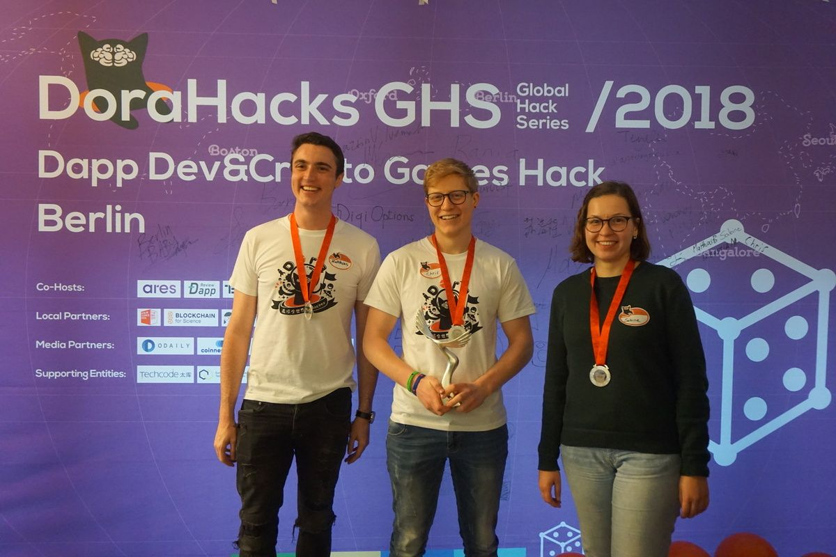 Dorahacks-Hackathon-2nd-prize