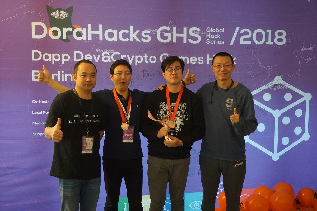Dorahacks-Hackathon-3rd-prize