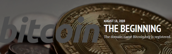 The Cryptocurrency Timeline