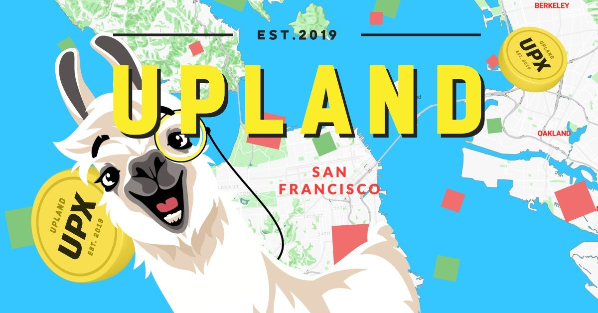 Upland blockchain game lama