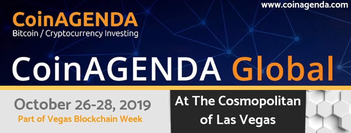 Coinagenda Global Announces Speakers for Las Vegas Conference